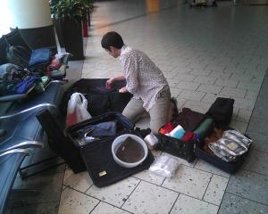 re-check baggage